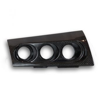 Evo X triple gauge pod
